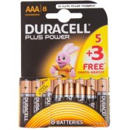 Duracell patareid AAA/LR03 Plus Power MN2400 8 tk