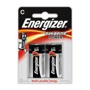 Energizer patareid C/LR14 Alkaline Power 2 tk