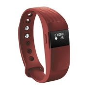 "ACME Acme Activity tracker ACT05R 0.49"" OLED, Red, Bluetooth, Built-in pedometer, Heart rate monitor, Waterproof, 120 g"