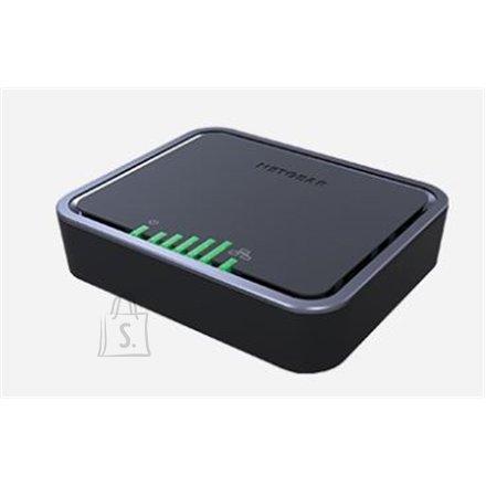 Netgear Netgear 4G LTE Modem LB2120-100PES 10/100/1000 Mbit/s, Ethernet LAN  (RJ-45) ports 1, Antenna type Internal WWAN antennas with support for