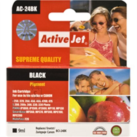 Activejet ink Canon BCI-24BK black