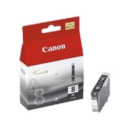 Canon Canon CLI-8BK Black Ink Tank (for Pixma iP4200/4300/5200/5300/6600/6700, MP500/530/600/800/810/830/950/960, Pro9000 ), 450 p. @ A4 5%