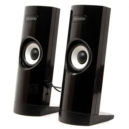 MicroLab Microlab B-18 2.0 Speakers/ 3W RMS (1,5W+1,5W)/ Headphone jack/ USB Powered