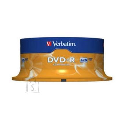 Verbatim DVD-R toorikute torn 4.7GB 16X 25 tk