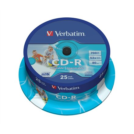 Verbatim CD-R toorikute torn 80/700MB 52X 25 tk