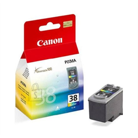 Canon Canon CL-38 FINE Color Ink Cartridge (Magenta, Yellow, Cyan) (for Pixma iP1800/2500/2600, MP140/210/220/300/310), 205 p. @ A4 5%/ 82 photos