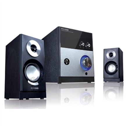 MicroLab M-880 2.1 Speakers/ 59W RMS (16Wx2+27W)