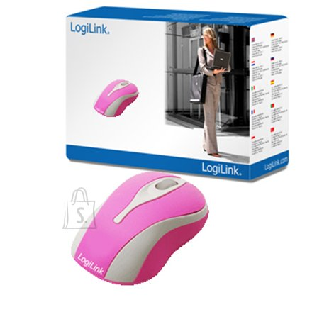 Logilink Logilink Mini Optical Scroll Mouse PINK