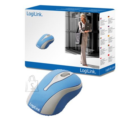 Logilink Logilink Mini Optical Scroll Mouse BLUE