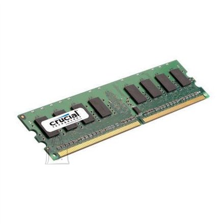 Crucial Crucial 2GB, 240-pin DIMM, DDR2 PC2-6400, CL=6, Unbuffered, NON-ECC, DDR2-800, 1.8V, 256Meg x 64