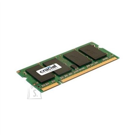Crucial Crucial 2GB, 200-pin SODIMM, DDR2 PC2-6400, CL=6, Unbuffered, NON-ECC, DDR2-800, 1.8V, 256Meg x 64