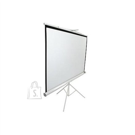 "Elite Screens T119NWS1 Tripod Pull Up 119"" 1:1 valge projektori ekraan"