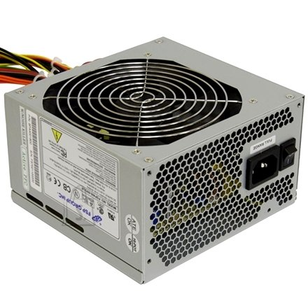 Fortron FSP500-60APN 500W 85+ (80PLUS BRONZE)/ ATX12V v2.3/ Silent 120mm FAN/ Active PFC PSU/ 4 SATA, 1 PCI-E