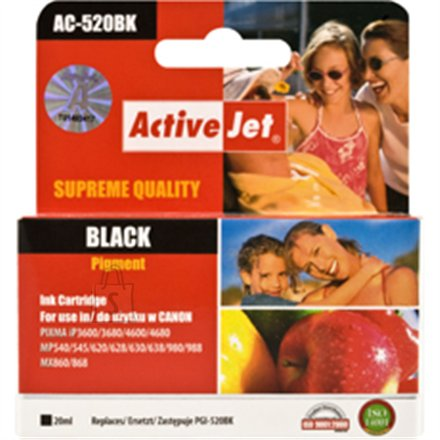 Activejet ink  PGI-520  Black Ink Tank
