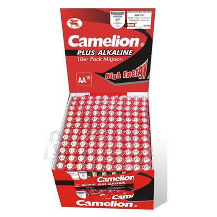 Camelion Camelion Plus Alkaline AA (LR06) Display Box (24x10pcs) Shrink Pack, 2800mAh