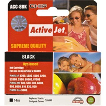 Activejet  ink Canon  CLI-8BK black