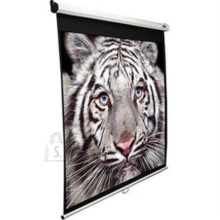 "Elite Screens M150XWV2 Manual Pull Down Screen 150"" 4:3 valge projektori ekraan"