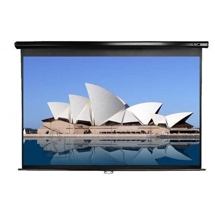"Elite Screens M100UWH manuaalne projektori ekraan 100"" 16:9"