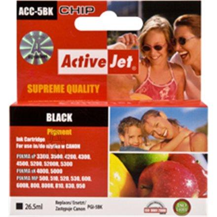 Activejet  ink Canon  PGI-5BK black