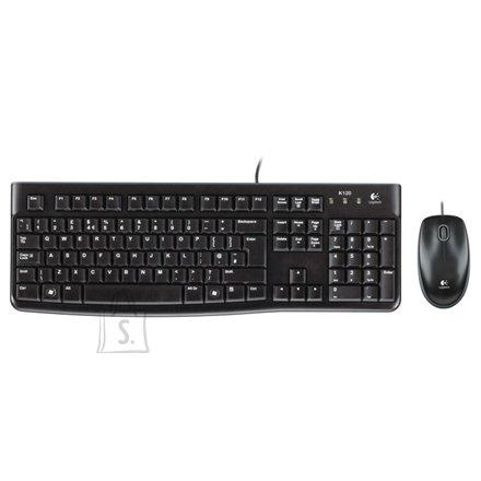 Logitech MK120 klaviatuur + hiir (US)