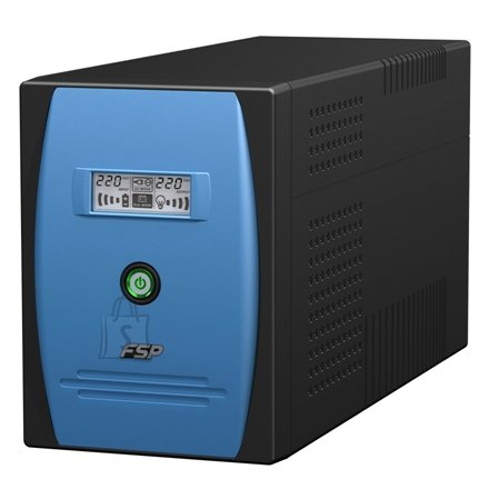 Fortron FSP Line Interactive UPS EP-1500/ 1500VA, 900W/ AVR/ LCD/ USB Port + Cable/ RJ11 port/ RS232 Port + Cable/ 3 IEC + 3 Schuko Output Sockets