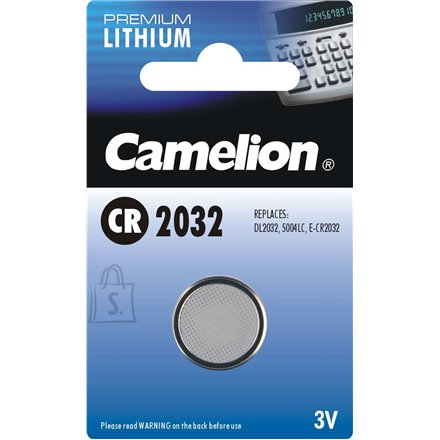 Camelion Camelion Lithium Button celles 3V (CR2032), 1-pack