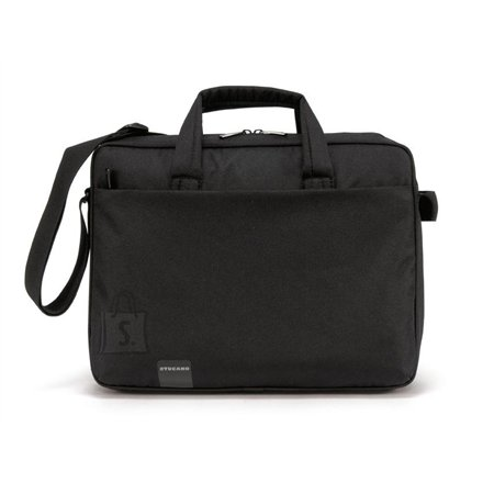 "Tucano Tucano START PLUS Computer case for 15.6""/16"" (Black)/ Polyester/ Internal: 38,5x28x4,5cm"