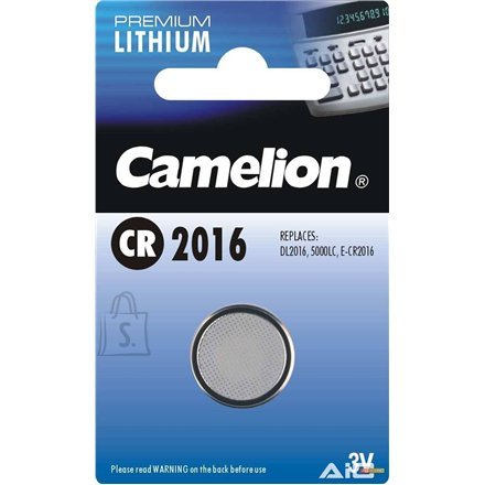 Camelion Camelion Lithium Button celles 3V (CR2016), 1-pack