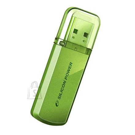 Silicon Power SILICON POWER 8GB, USB 2.0 FLASH DRIVE HELIOS 101, GREEN