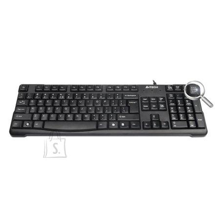 A4Tech KR-750 (US/Leedu) must USB klaviatuur