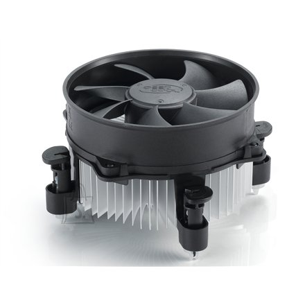 Deepcool CPU cooler Alta9 ,  Intel, socket 775/1155, 92mm fan, hydro bearing, 65W     * Ideal thermal solution for Intel LGA775/1155     * Radial heatsink with 92mm fan to dissipate heat very efficiently.     * Easy installation with push pins.
