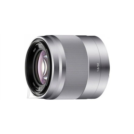 Sony Sony SEL-50F18 E50mm F1.8 portrait lens.Optical SteadyShot image stabilisation within lens.
