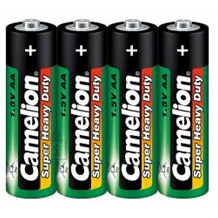 Camelion Camelion Super Heavy Duty AA (R06), Green, 4 pcs