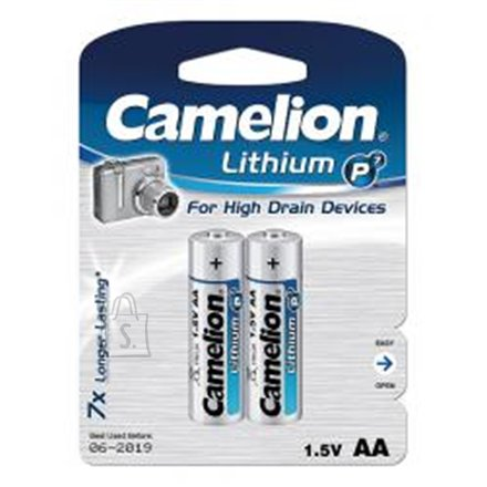 Camelion Camelion Lithium AA (FR06), 2-pack