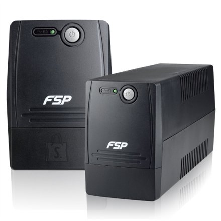 FSP Fortron FSP Line Interactive UPS FP-600/ 600VA, 360W/ AVR/ 2 Schuko Output Sockets
