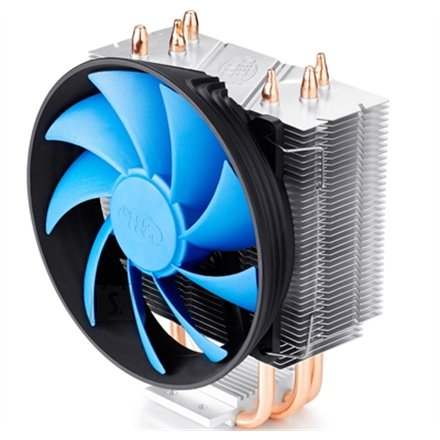 "Deepcool Deepcool ""Gammaxx 300"" universal cooler, 3 heatpipes, Intel Socket LGA1156 /1155/ 775, 125 W TDP and AMD Socket FM1/AM3+/AM3/AM2+/AM2/940/939/754, 130W TDP"