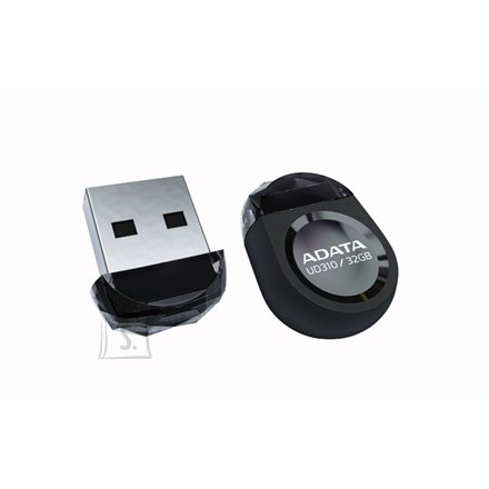 A-Data A-DATA Miniature AUD310 32GB Black USB 2.0 Flash Drive