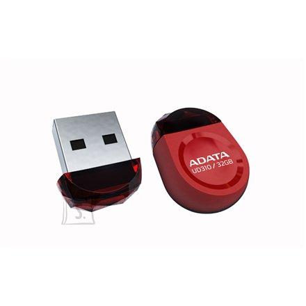 A-Data A-DATA Miniature AUD310 16GB Red USB 2.0 Flash Drive