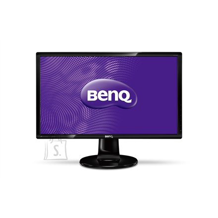 "BenQ BenQ GL2460 24"" LED 1920x1080 / 250 cdqm / 12M:1 (typ 1000:1)/ 2ms/ H=170, V=160 / VGA, DVI-D/ TCO 6.0 / Glossy black"