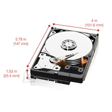 "Western Digital Western Digital Red WD20EFRX 2TB  3.5"" 64MB SATAIII 6 Gb/s"