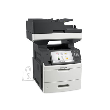 "Lexmark Lexmark MX711dhe Multifunction Mono Laser Printer/ Print, copy, scan, fax/ 1200 x 1200 dpi/ 70 ppm/ 800 MHz/ 1024 MB/ 650-Sheet Input/ Integrated Duplex/ 10,2"" Touch Screen/Ethernet 10/100/100/ USB 2.0/ White/ CZ GR HU PL ES PT EA"