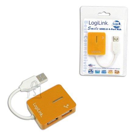 Logilink UA0137 USB jaotur Smile 4-le