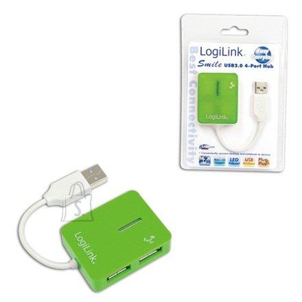 Logilink UA0138 USB jaotur Smile 4-le