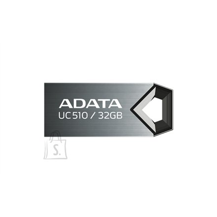A-Data A-DATA 16GB USB2.0 DashDrive Choice UC510, Titanium