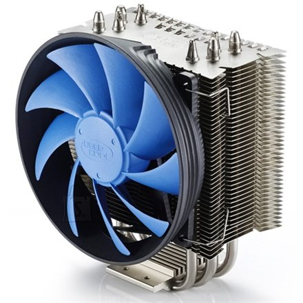 "Deepcool Deepcool ""Gammaxx S40"" universal cooler, 4 heatpipes, Intel Socket LGA2011/1155/ 775, 130 W TDP and AMD Socket FM2/FM1/AM3+/AM3/, 125W TDP"