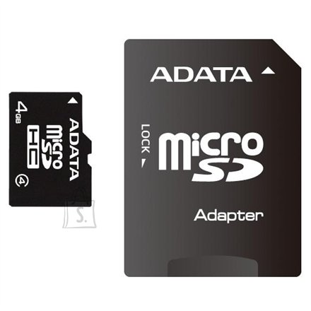 A-Data A-DATA 32GB microSDHC Card (Class 4) with 1 Adapter, retail