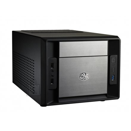 Cooler Master Cooler Master Elite 120 Advanced ,Mini-ITX case, black w/o standart PSU,