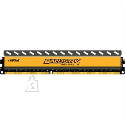 Crucial mälu 4GB, DDR3, UDIMM 240, PC3-12800