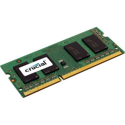 Crucial Crucial 4GB 204-pin SODIMM DDR3 PC3-12800, CL=11, Unbuffered, NON-ECC, DDR3-1600, 1.35V, 1024Meg x 64