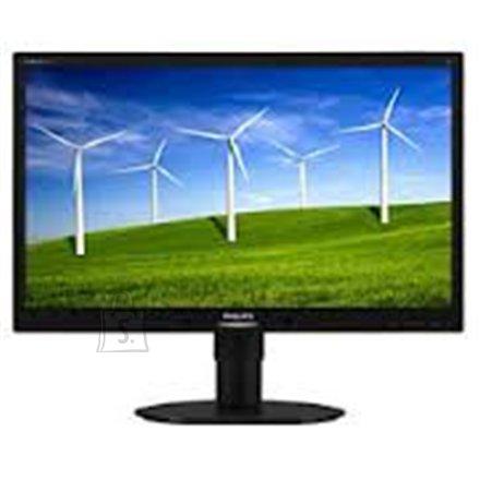 "Philips PHILIPS 220B4LPYCB 22"" LED LCD 1680x1050 / 20M:1 / 5ms / H=170, V=160 / 250cdqm / D-SUB, DVI-D, Displayport / Audio 2x1.5W / Tilt, HAS, Pivot, Swivel, VESA/ Black"